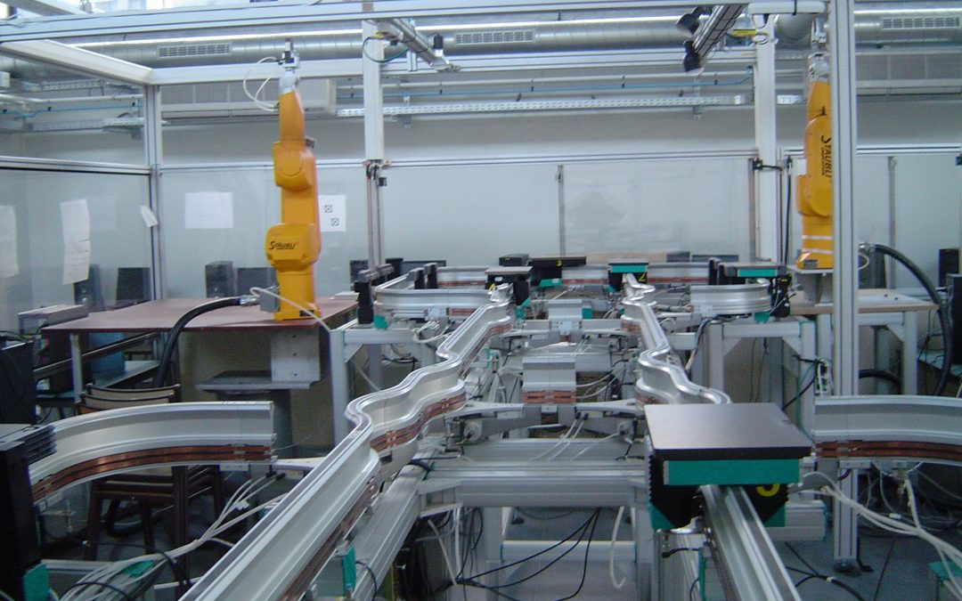 L'environnement ROS est-il adapté à  la Commande Distribuée et la Simulation de systèmes de production robotisés ?