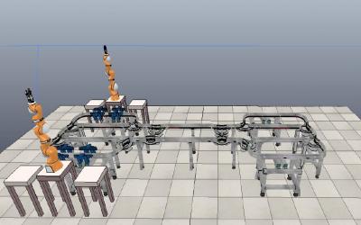 Architecture générique pour la commande d'une cellule flexible de production | STAGE